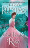Cold-Hearted Rake book cover - woman in pink dress against turquoise background