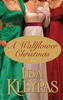 A Wallflower Christmas by Lisa Kleypas, 3 women in red, white & green ball gowns.