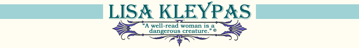 Lisa Kleypas, New York Times Bestselling Author